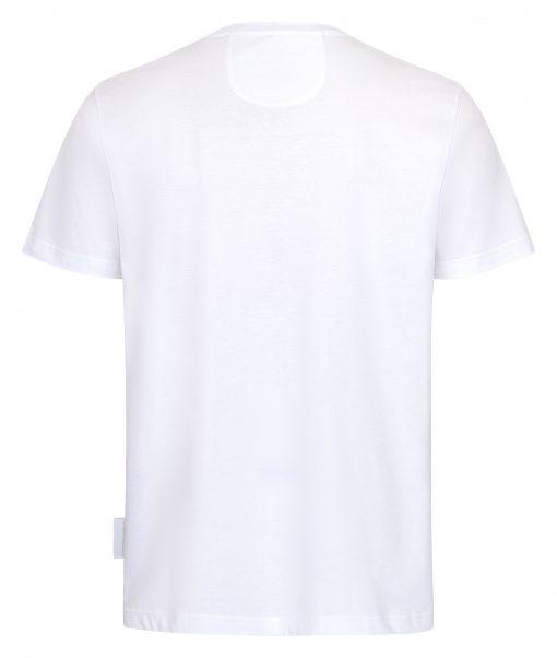 Herren T-shirt mit Brusttasche hinten