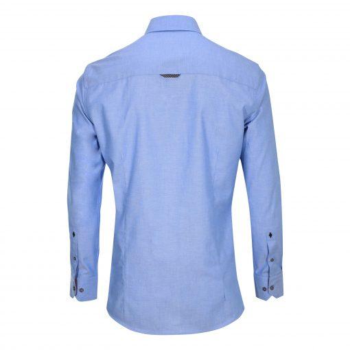 Hemd-blau-hinten-slim-fit