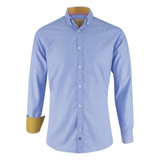 KK-Hemd-blau-vorne-regular-fit