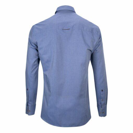 Hemd-navy-hinten-slim-fit