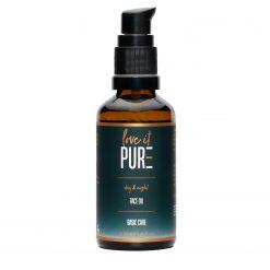 Regenerierendes Gesichtsöl mit Arganöl, Jojobaöl, Vitamin E und reich an Antioxidantien